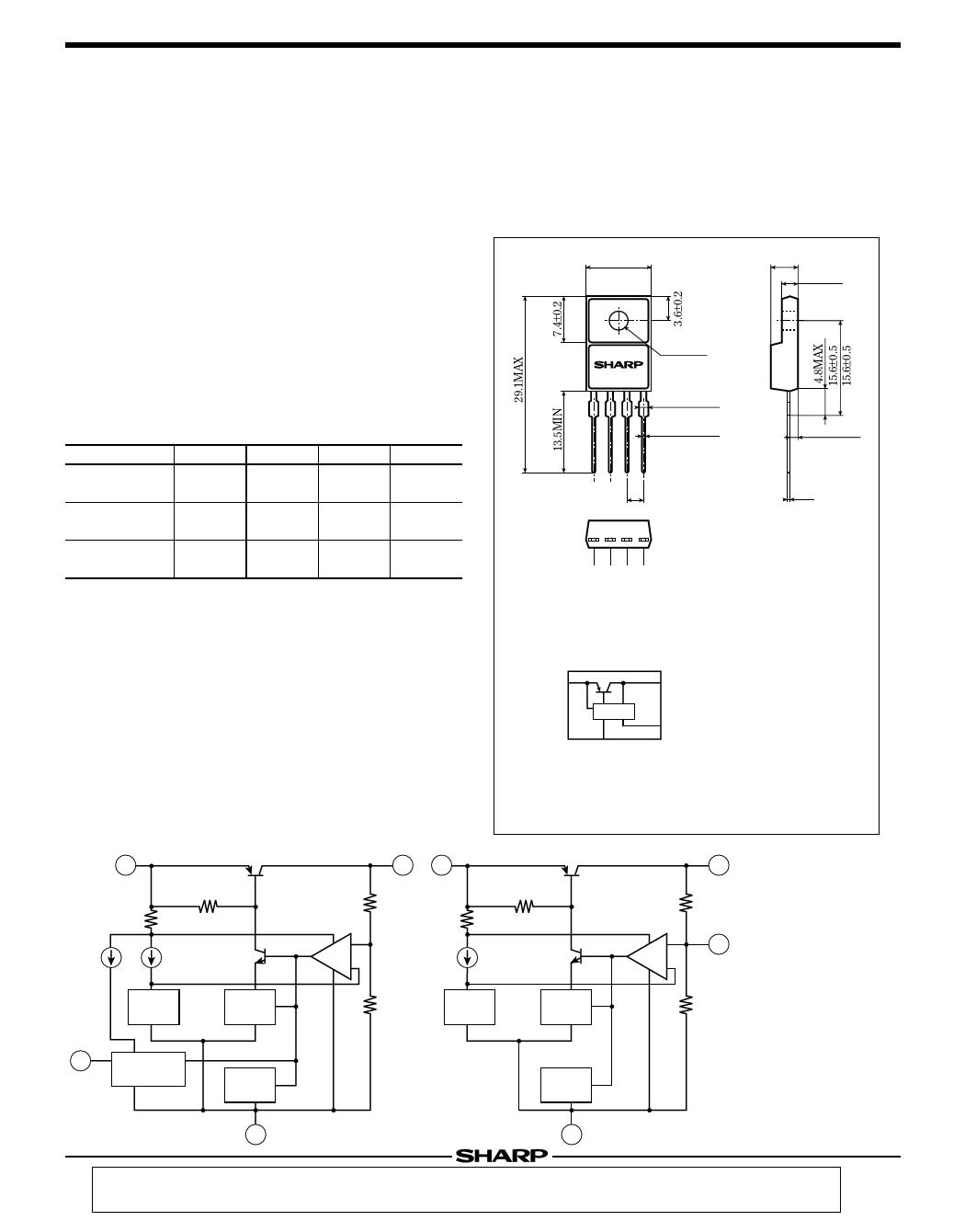 P005RF21 HTML VIEW PDF DOWNLOAD , P005RF21 Hoja de datos -Sharp